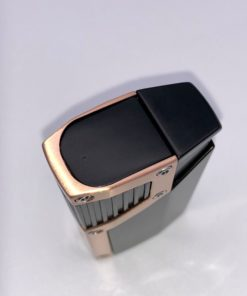 Czar 4-Flame Torch Lighter - Black Matte & Copper