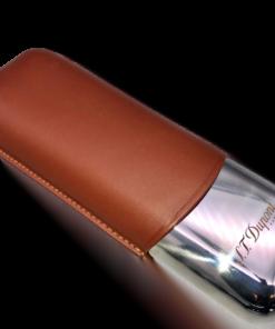 Cigar Case 2 Brown