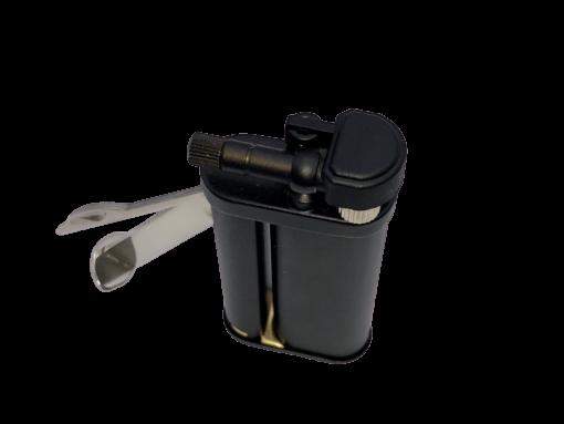 Tomo Black Matte Pipe Lighter