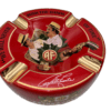 Hands of Time Ashtray Red