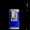 Duke Guillotine Lighter - Blue and Chrome