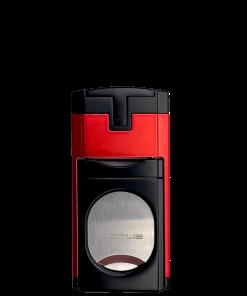 Duke Guillotine Lighter - Red and Black